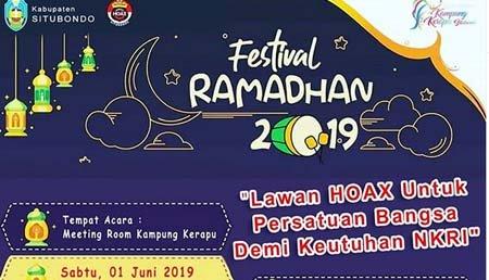 Festival Ramadhan Bareng Netizen dan Kapolres Situbondo.